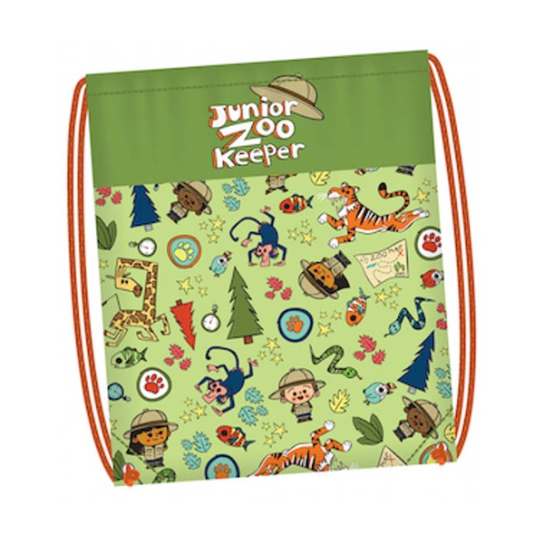 JR ZOO KEEPER DRAWSTRING BACKPACK
