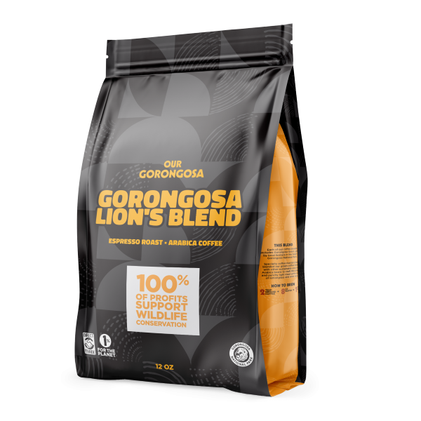 Gorongosa Lion's Blend Coffee Grounds