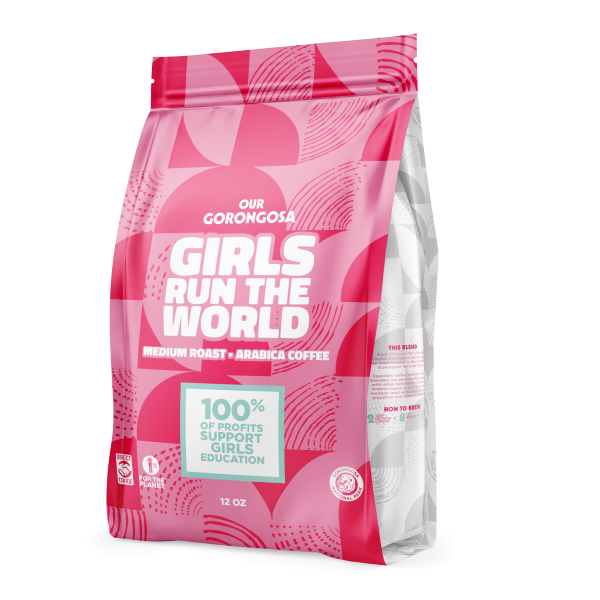 Gorongosa Girls Run the World Coffee Whole Bean