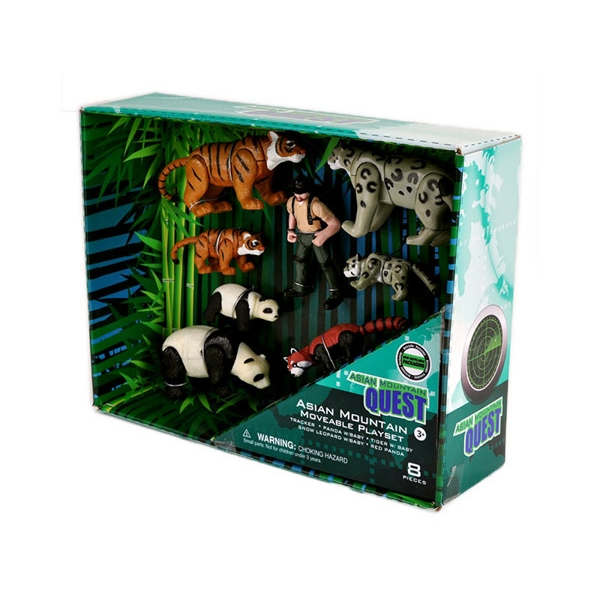 QUEST ASIAN MOVABLE ANIMALS SET