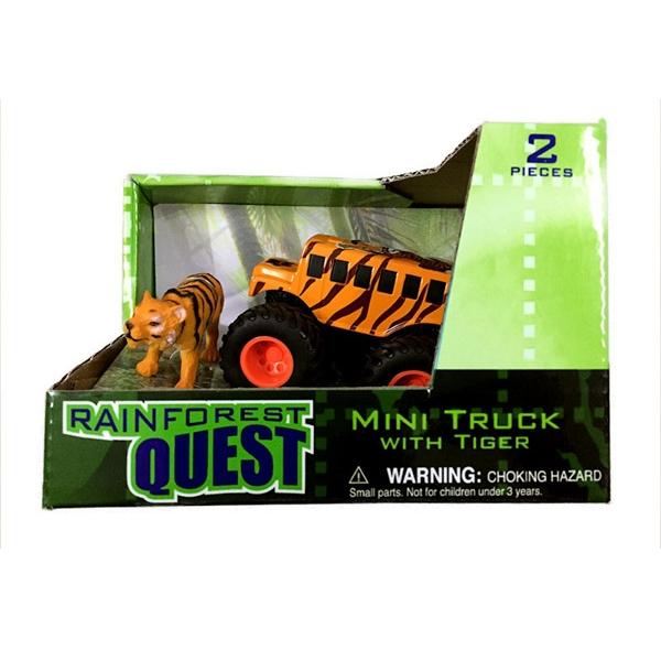 QUEST MINI TRUCK AND TIGER SET
