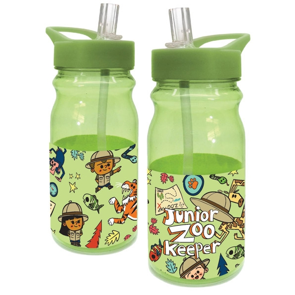 JR ZOOKEEPER KIDS WATER BOTTLE