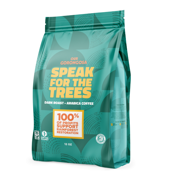 Gorongosa Speak for the Trees Coffee Gounds